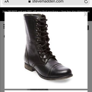 Steve Madden troopa leather boots